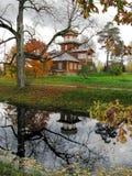 Ilya Repin-de zomerwoonplaats stock afbeelding