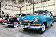Ilya Sorokin's Oldtimer Gallery 2012, Moscow Stock Photo
