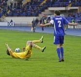 ilyichevets 1 3 fc сопрягают футбол metalist против Стоковое Изображение