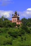 Ilyinsko-Preobrazhensky Church in 1775, the city. Ilyinsko preobrazhensky Church was built in 1775 in the green against the blue sky architecture historic Stock Photography