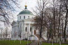 Ilyinsko-Tikhvin Church, Yaroslavl Stock Photo