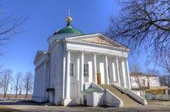 Ilyinsko-Tikhvinkirche. Stockfotografie