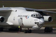 Ilyushin 76 cargo plane Stock Image