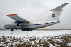 Ilyushin Il-76 Image stock