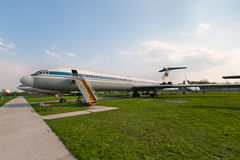 Ilyushin Il-62 Flugzeug Lizenzfreie Stockbilder