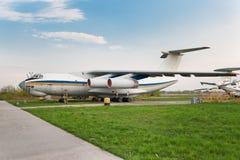 Ilyushin Il-76 Flugzeug lizenzfreies stockbild