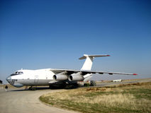 Ilyushin Il-76 russian build aircraft Royalty Free Stock Images