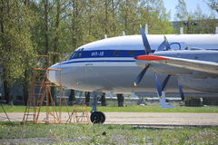 Ilyushin Il-18 Photographie stock
