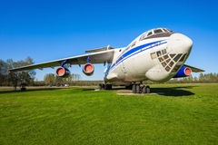 The Ilyushin Il-76 aircraft royalty free stock photos