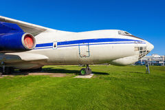 The Ilyushin Il-76 aircraft royalty free stock photography