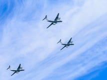 3 Ilyushin Il-76 (franc) Photos stock
