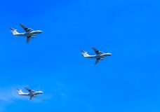 3 Ilyushin Il-76 (franc) Photographie stock