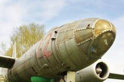 Ilyushin Il-28 jet bomber airplane Stock Image