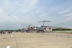Ilyushin IL-76 Royalty Free Stock Image
