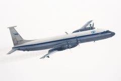 Ilyushin IL-22M της ρωσικής Πολεμικής Αεροπορίας που κάνει τη στροφή σε Chkalovsky Στοκ Φωτογραφίες