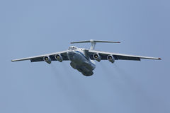 The Ilyushin Il-76MD airlifter Royalty Free Stock Photography