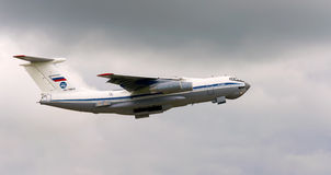 Ilyushin IL-76MD of Russian Air Force Stock Image