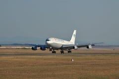 Ilyushin Il-86 passagerarenivå Arkivbild