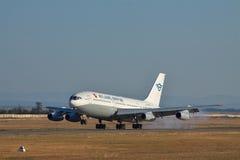 Ilyushin Il-86 passagerarenivå Fotografering för Bildbyråer