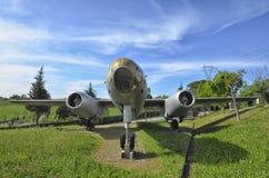 Ilyushin Il-28 w samolotu cmentarzu Zdjęcia Stock