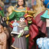 Imágenes católicas de santos Fotografía de archivo libre de regalías