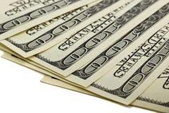 Imágenes de 100 billetes de dólar Imagen de archivo