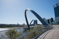 Imágenes de Elizabeth Quay Bridge Foto de archivo libre de regalías
