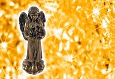 Imágenes de la acción de la estatua del ángel foto de archivo libre de regalías