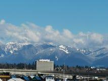Imágenes de la nieve del movimiento de Vancouver fotos de archivo