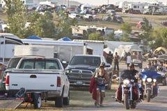 Imágenes de la reunión Dakota del Sur de los sturgis Foto de archivo libre de regalías