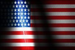Imágenes de las banderas de los E.E.U.U. Imagenes de archivo