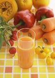 Imágenes de las bebidas frescas de la fruta y verdura imagen de archivo