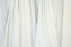 Imágenes de las cortinas blancas Foto de archivo