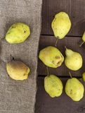 Imágenes de las imágenes de la pera del invierno, naturales y orgánicas del invierno de la pera Foto de archivo libre de regalías