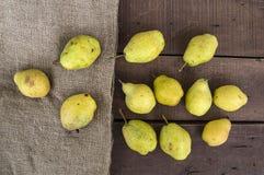 Imágenes de las imágenes de la pera del invierno, naturales y orgánicas del invierno de la pera Imagen de archivo