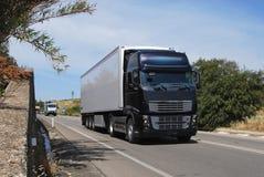 Imágenes de los camiones de petrolero Fotos de archivo libres de regalías