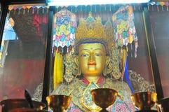 Imágenes de oro de Buddha Fotografía de archivo libre de regalías