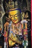 Imágenes de oro de Buddha Fotos de archivo libres de regalías
