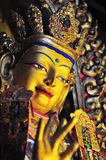 Imágenes de oro de Buddha Foto de archivo