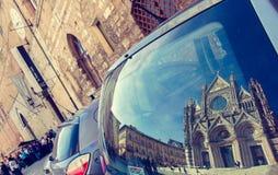 Imágenes de Toscana - di Siena del Duomo fotografía de archivo libre de regalías