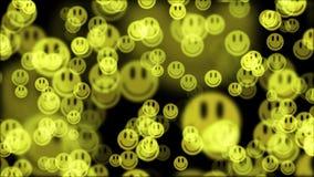 Imágenes de vídeo alegres agradables frescas de descoloramiento de la nueva calidad del fondo de la animación de la sonrisa del f ilustración del vector