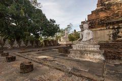 Imágenes de Wat Yai Chaimongkol Buddha Imagenes de archivo