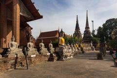 Imágenes de Wat Yai Chaimongkol Buddha Imagen de archivo libre de regalías