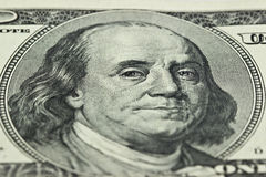 100 imágenes del billete de dólar Fotografía de archivo