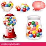 Imágenes del chicle de globo Fotos de archivo libres de regalías