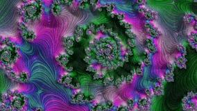 Imágenes del fractal multicoloras stock de ilustración