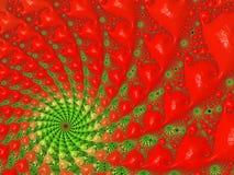 Imágenes del fractal multicoloras Imagenes de archivo