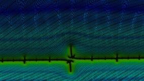 Imágenes del fractal multicoloras almacen de metraje de vídeo