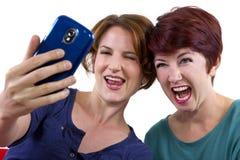 Imágenes del teléfono celular Foto de archivo