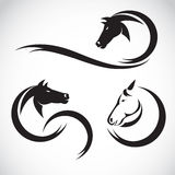 Imágenes del vector del diseño del caballo Fotografía de archivo libre de regalías